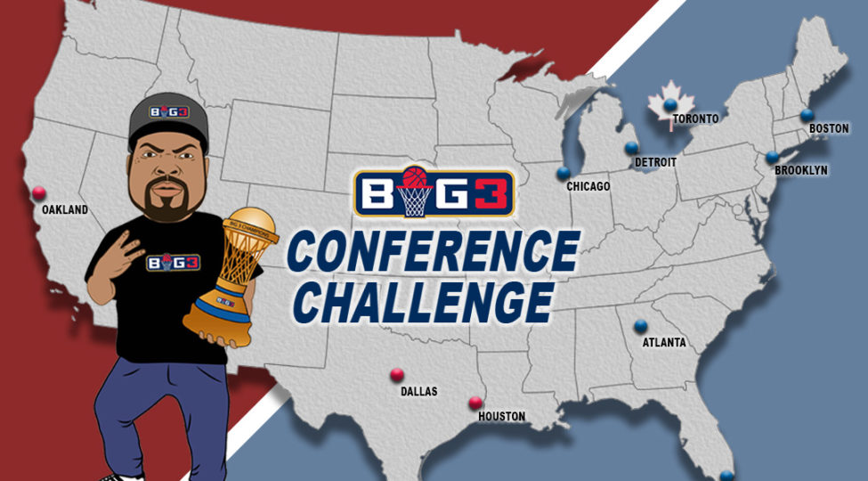 BIG3 Announces 'Conference Challenge' Ticket Promotion – BIG3