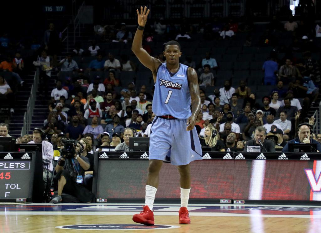 Triplets' Joe Johnson in NBA form, early BIG3 Basketball MVP