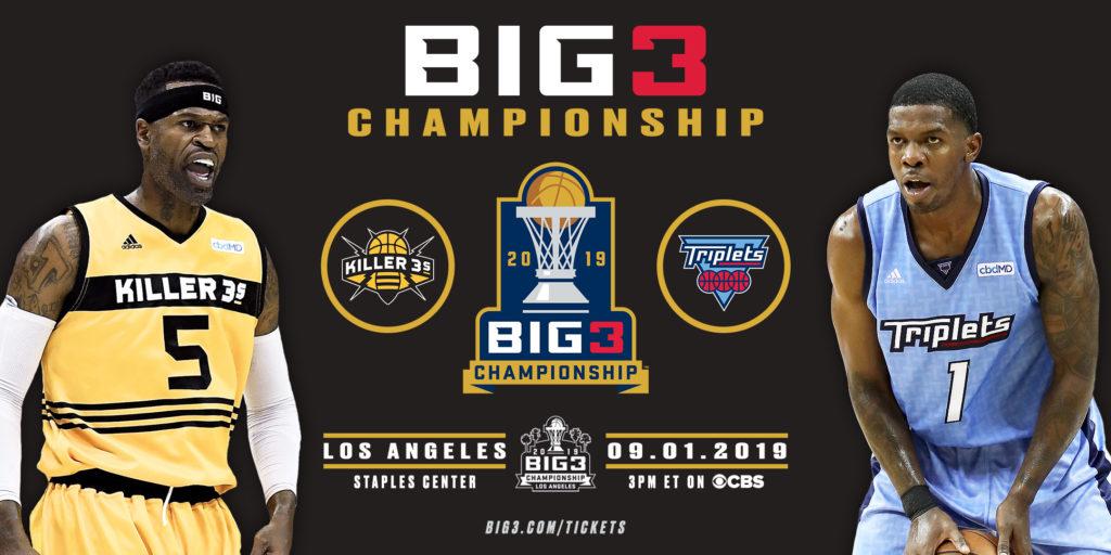 BIG3 Championship this Sunday at Staples Center – BIG3